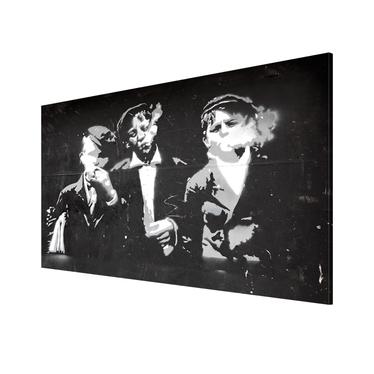 GANG DE RUE RÉTRO Tableau 90x60 cm