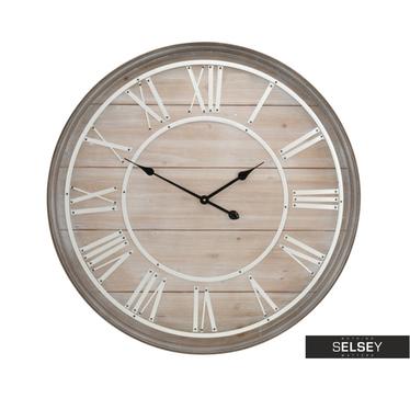 MDF Horloge murale Ø 80 cm