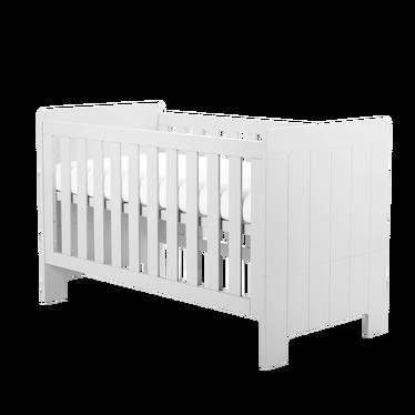 CALMO Lit bébé évolutif 70x140 cm blanc
