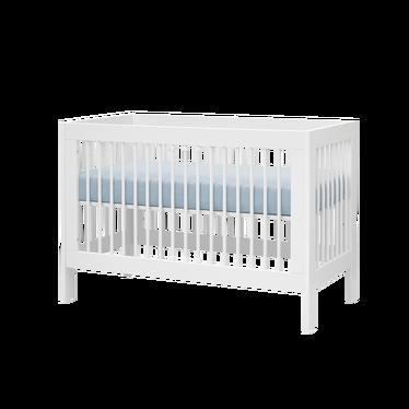 BASIC Lit bébé évolutif  60x120 cm blanc