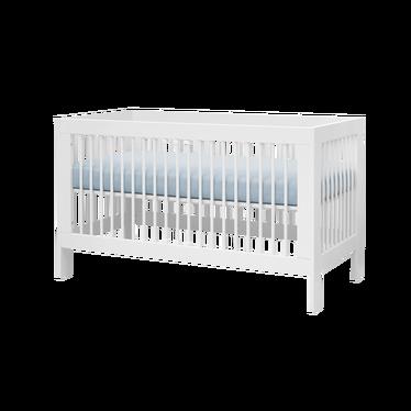 BASIC Lit bébé évolutif 70x140 cm blanc
