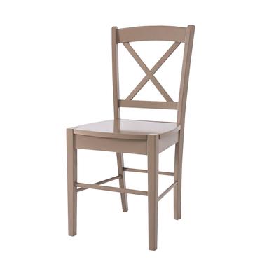 SVENE Chaise en bois beige