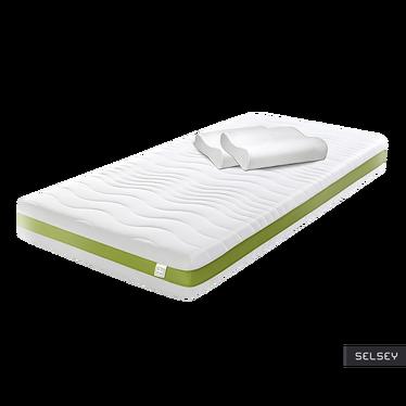 ECO LINE Matelas à ressorts avec 2 oreillers ergonomiques