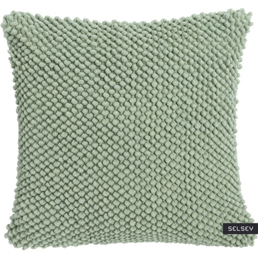 JUMBO DOTS Coussin vert 45x45 cm