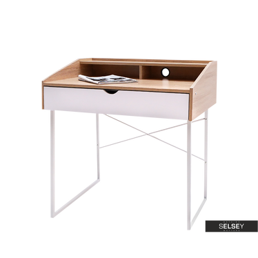 LARS Petit bureau avec tiroir