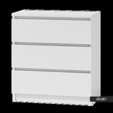 CLINO Commode 3 tiroirs style minimaliste
