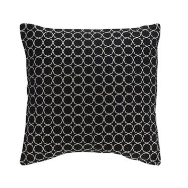 MONÉ Coussin noir 45x45 cm