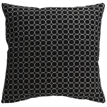 MONÉ Coussin noir 60x60 cm