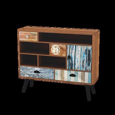 PATCHWORK Cabinet de rangement vintage