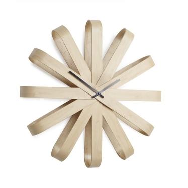 RIBON Horloge en bois
