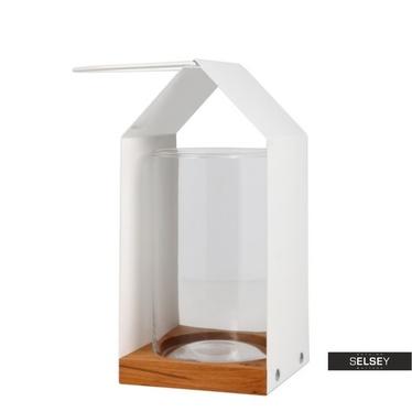 MAISONNETTE BLANCHE Petite lanterne