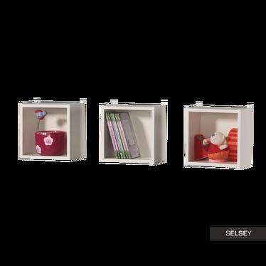 DUMBO Lot de 3 étagères