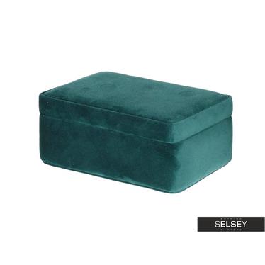 VELVET Boîte à bijoux verte