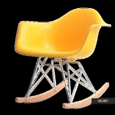MPA ROC Fauteuil à bascule design jaune
