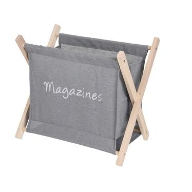 MESS Porte-magazines gris
