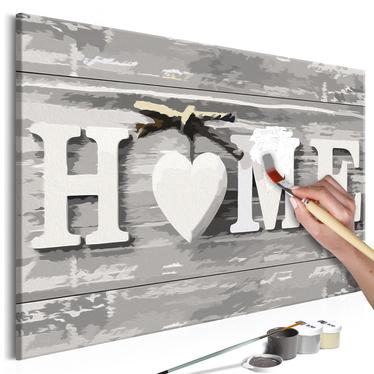 HOME Tableau à peindre soi-même