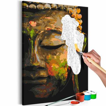 BOUDDHA À L'OMBRE Tableau à peindre soi-même