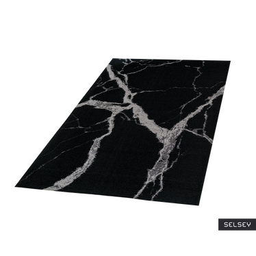 STATUARIO BLACK Tapis design