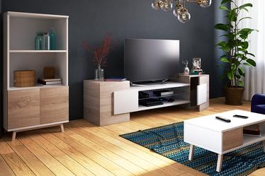 GAELIN Meuble TV 160 cm moderne
