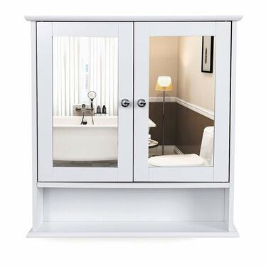 LUKE Armoire salle de bain avec miroir 56 cm