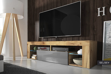 HUGO Meuble TV 140 cm