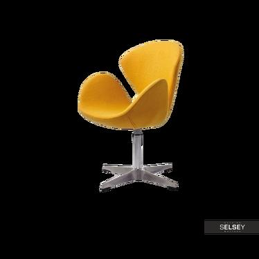TONALE Fauteuil de bureau jaune