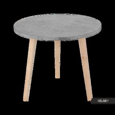 HELLA Bout de canapé rond diamètre 49,5 cm