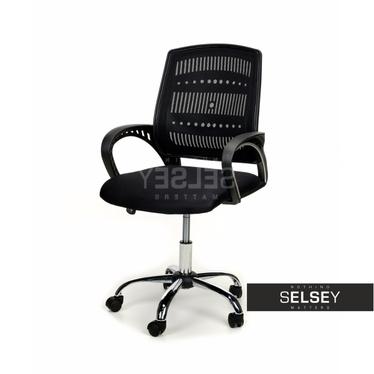 SANTA Chaise de bureau noire