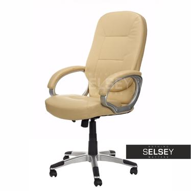 AKITA Chaise de bureau beige