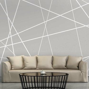 TOILE D'ARAIGNÉE MODERNE Papier peint photo 300x210 cm