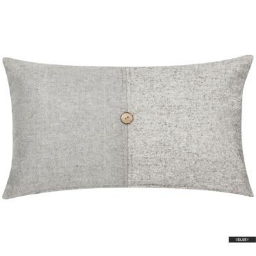CENTRE coussin gris 30 x 50 cm