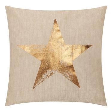 STAR Coussin en lin 45x45 cm