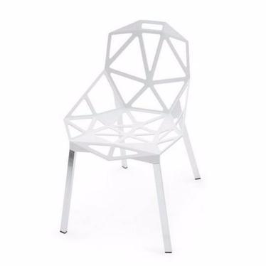 GAP Chaise design blanche