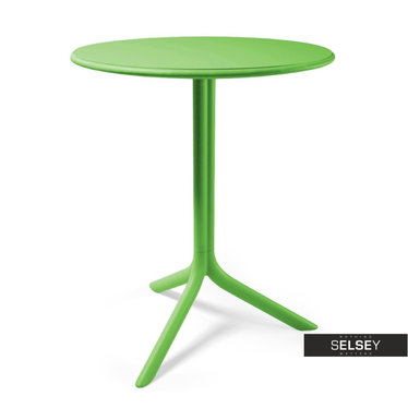 SPRITZ Table verte Ø 61 cm