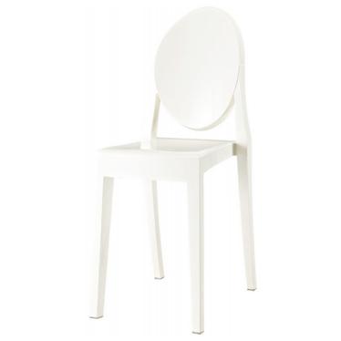 VIKI Chaise blanche