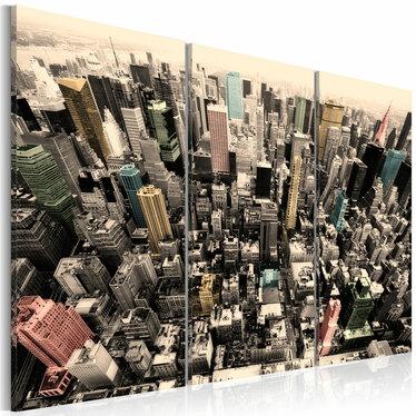 GRATTE-CIEL DE NEW YORK Tableau sur toile 60x40 cm
