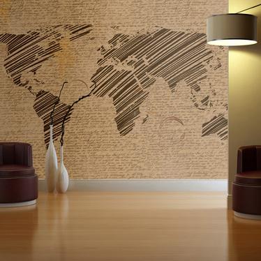 SOUVENIRS DE VACANCES Papier peint photo 350x270 cm