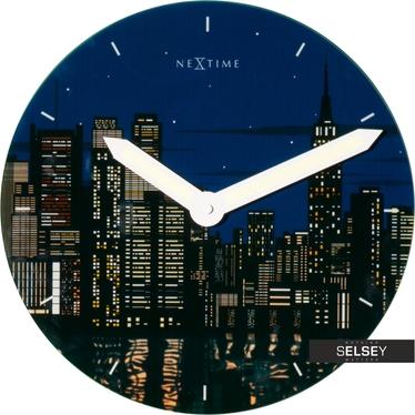 NEW YORK Horloge murale 30 cm