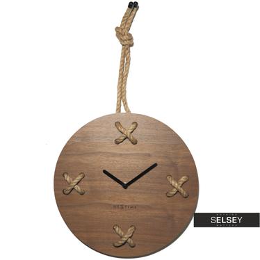 STICH Horloge murale en bois