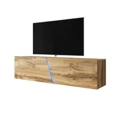 ALAMARA Meuble TV LED 160 cm