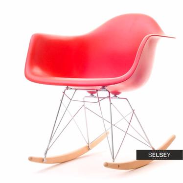 MPA ROC Fauteuil à bascule design rouge
