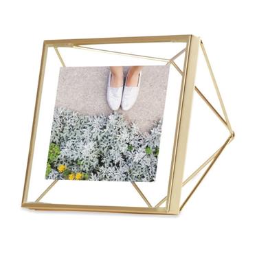 PRISMA Cadre photo 10x10 cm doré