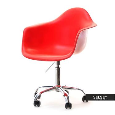 MPA MOVE Chaise pivotante design rouge