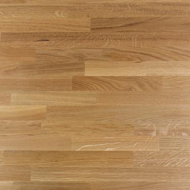 Table basse Qildor 60x60 cm en bois de chêne massif