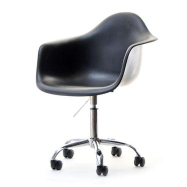 MPA MOVE Chaise pivotante design noir