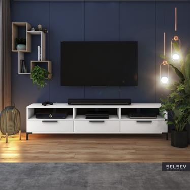 RIKKE Meuble TV 160 cm