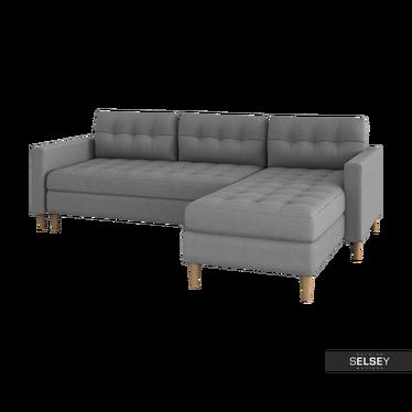 COPENHAGUE Canapé d'angle scandinave réversible