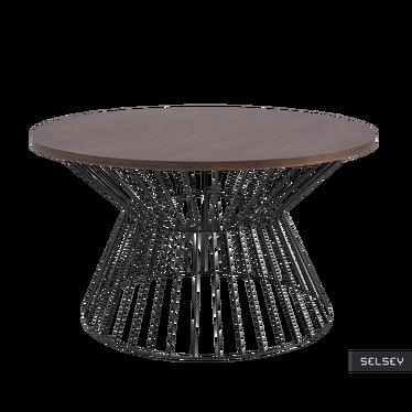 HEIKE Table basse ronde Ø 82 cm