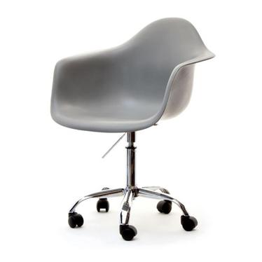 MPA MOVE Chaise pivotante design grise