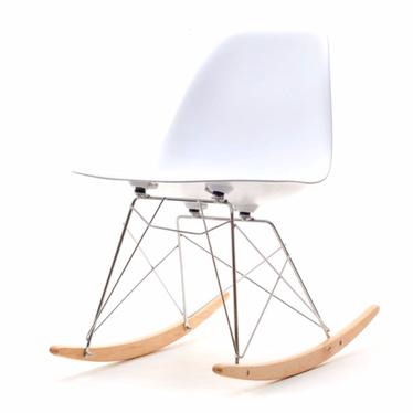 MPA ROC Chaise à bascule blanc